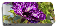 petunia nightsky,Helloween colors  Portable Battery Charger