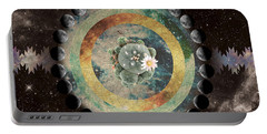 Peyote Moon Phase Portable Battery Charger