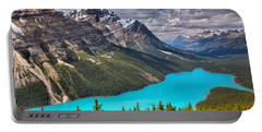 Peyto Lake Between The Peaks Portable Battery Charger