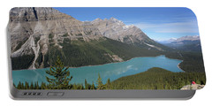 Peyto Lake Portable Battery Charger by Keith Boone