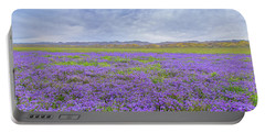 Portable Battery Charger featuring the photograph Phacelia Field by Marc Crumpler