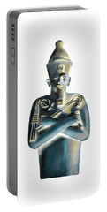 Pharaoh Portable Battery Charger by Elizabeth Lock