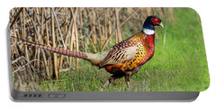 Pheasant Cock Portable Battery Charger