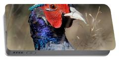 Pheasant Portrait Portable Battery Charger