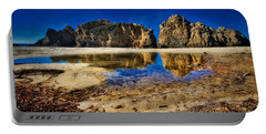 Portable Battery Charger featuring the photograph Pheiffer Beach #15 - Big Sur, Ca by Jennifer Rondinelli Reilly - Fine Art Photography