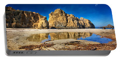 Portable Battery Charger featuring the photograph Pheiffer Beach - Keyhole Rock #16 - Big Sur, Ca by Jennifer Rondinelli Reilly - Fine Art Photography