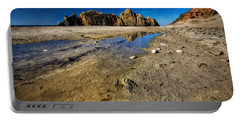 Portable Battery Charger featuring the photograph Pheiffer Beach -keyhole Rock #18 - Big Sur, Ca by Jennifer Rondinelli Reilly - Fine Art Photography