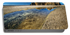 Portable Battery Charger featuring the photograph Pheiffer Beach- Keyhole Rock #19 - Big Sur, Ca by Jennifer Rondinelli Reilly - Fine Art Photography