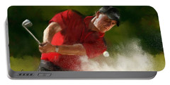 Phil Mickelson - Lefty In Action Portable Battery Charger