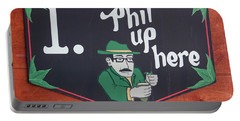 Phil Up Here Portable Battery Charger