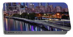 Philadelphia Blue Hour Portable Battery Charger