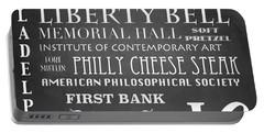 Philadelphia Famous Landmarks Portable Battery Charger