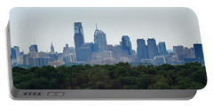 Philadelphia Green Skyline Portable Battery Charger
