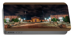 Portable Battery Charger featuring the photograph Philadelphia Museum Of Art by Marvin Spates