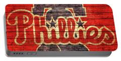 Philadelphia Phillies Barn Door Portable Battery Charger