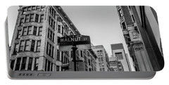 Portable Battery Charger featuring the photograph Philadelphia Urban Landscape - 0980 by David Sutton
