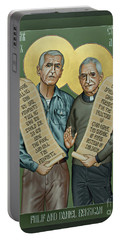 Philip And Daniel Berrigan Portable Battery Charger
