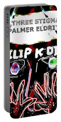 Philip K Dick Poster 2  Portable Battery Charger