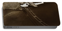 Philippine Clipper A Pan Am Clipper Over The Golden Gate Bridge  1935 Portable Battery Charger