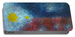 Philippine Flag Portable Battery Charger