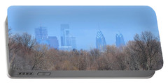 Philly From Afar Portable Battery Charger by Kathy Eickenberg