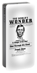 Phineas Gage World's Wonder Portable Battery Charger