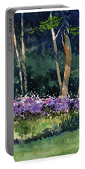 Phlox Meadow, Harrington State Park Portable Battery Charger
