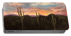 Phoenix Az Sunset Portable Battery Charger