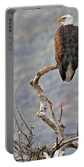 Portable Battery Charger featuring the photograph Phoenix Eagle by Matalyn Gardner