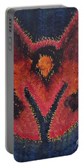 Phoenix Rising Original Painting Portable Battery Charger