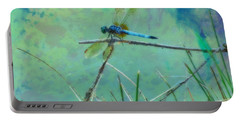 Photo Painted Dragonfly Portable Battery Charger