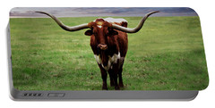 Photo Texas Longhorn A010816 Portable Battery Charger