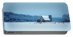 Photographer On Thin Ice Portable Battery Charger