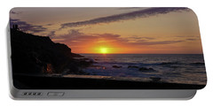 Photographer's Sunset Portable Battery Charger by Terri Waters