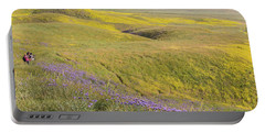 Portable Battery Charger featuring the photograph Photographing Carrizo by Marc Crumpler