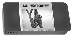 Photography Collection Portable Battery Charger by Modern Art Prints