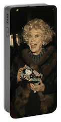 Phyllis Diller Portable Battery Charger