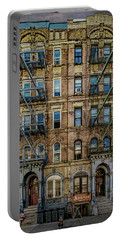 Portable Battery Charger featuring the photograph Physical Graffiti by Chris Lord