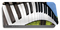 Portable Battery Charger featuring the photograph Piano Land by Paul Wear