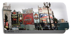 Piccadilly Circus 1950's Portable Battery Charger by Wernher Krutein