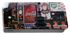 Piccadilly Circus, London, 1940's Portable Battery Charger by Wernher Krutein