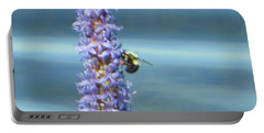 Pickerelweed Bumble Bee Portable Battery Charger