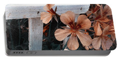 Picket Fence Blooms Portable Battery Charger
