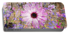 Pickin Wildflowers Portable Battery Charger