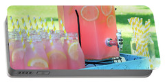 Picnic Pink Lemonade Portable Battery Charger