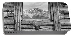 Portable Battery Charger featuring the photograph Picture Window #2 by Eric Glaser