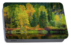 Portable Battery Charger featuring the photograph Picturesque Tumwater Canyon by Dan Mihai