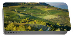 Portable Battery Charger featuring the photograph Piemonte Countryside by Brian Jannsen