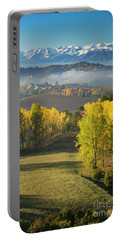 Portable Battery Charger featuring the photograph Piemonte Morning by Brian Jannsen