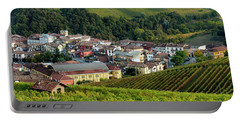 Portable Battery Charger featuring the photograph Piemonte Panoramic by Brian Jannsen